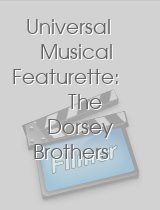 Universal Musical Featurette: The Dorsey Brothers Encore
