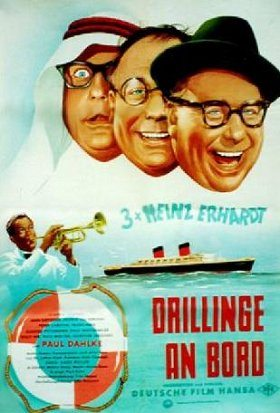 Drillinge an Bord
