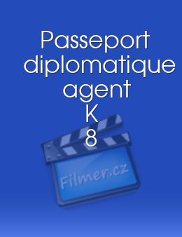 Passeport diplomatique agent K 8