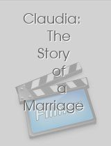 Claudia The Story of a Marriage
