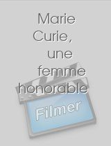 Marie Curie une femme honorable