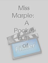 Miss Marple A Pocket Full of Rye