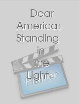 Dear America Standing in the Light