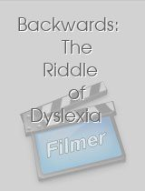 Backwards The Riddle of Dyslexia