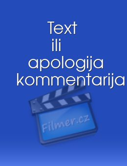 Text ili apologija kommentarija download