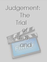Judgement: The Trial of Julius and Ethel Rosenberg