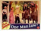 One Man Law