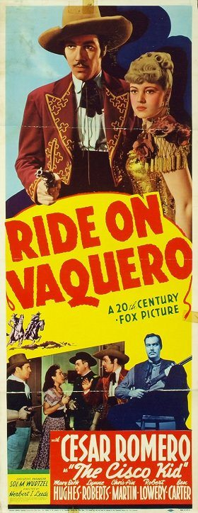 Ride on Vaquero