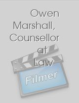 Owen Marshall Counsellor at Law
