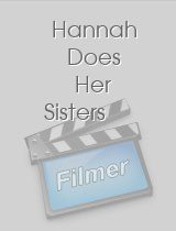 Hannah Does Her Sisters
