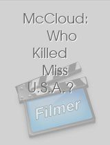 McCloud Who Killed Miss U.S.A.?