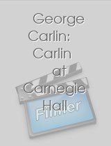 George Carlin: Carlin at Carnegie Hall