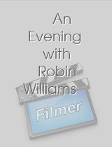 A Evening with Robin Williamsn