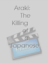 Araki: The Killing of a Japanese Photographer