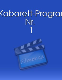 Kabarett-Programm Nr. 1 download