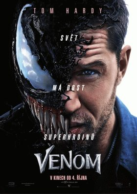 Film Venom 2018 / mp4 / cz. dab.