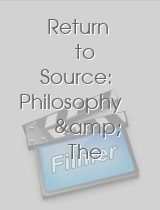 Return to Source: Philosophy & The Matrix