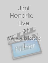 Jimi Hendrix Live at Woodstock II