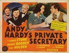 Andy Hardys Private Secretary