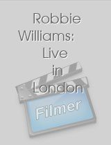 Robbie Williams - Live in London
