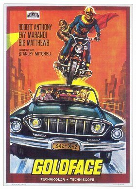Goldface il fantastico superman