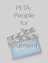 PETA: People for the Ethical Treatment of Animals