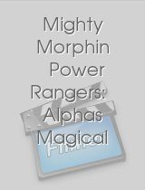 Mighty Morphin Power Rangers Alphas Magical Christmas