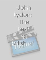 John Lydon The Best of British £1 Notes