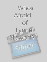 Whos Afraid of Lynne Stewart?