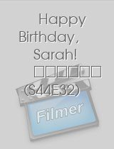 Tatort Happy Birthday Sarah!