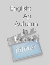 English: An Autumn in London