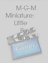 M-G-M Miniature: Little Boy Blue