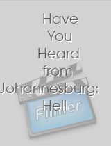Have You Heard from Johannesburg: Hell of a Job