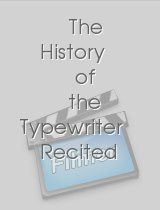 The History of the Typewriter Recited by Michael Winslow