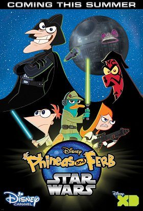 Phineas a Ferb: Star Wars download