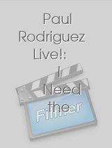 Paul Rodriguez Live!: I Need the Couch
