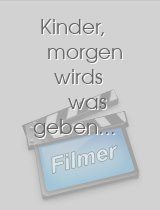 Kinder, morgen wirds was geben...