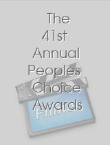 The 41st Annual Peoples Choice Awards