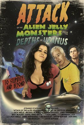 Attack of the Alien Jelly Monsters from the Depths of Uranus