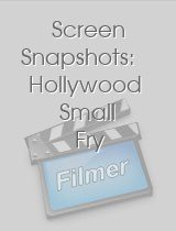 Screen Snapshots: Hollywood Small Fry