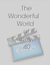 The Wonderful World of Disney: 40 Years of Television Magic