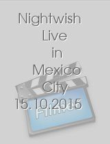 Nightwish Live in Mexico City 15.10.2015