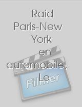 Raid Paris-New York en automobile Le