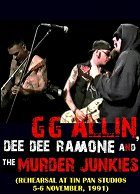 GG Allin & Dee Dee Ramone: Rehearsal at Tin Pan Studios 1991