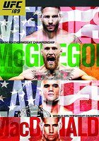 UFC 189 Mendes vs McGregor