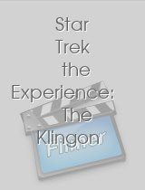 Star Trek the Experience: The Klingon Encounter