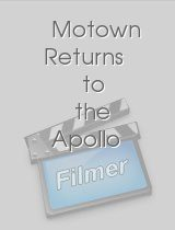 Motown Returns to the Apollo