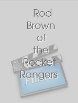 Rod Brown of the Rocket Rangers