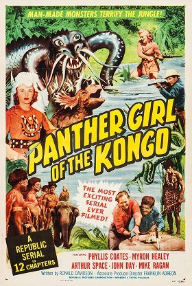 Panther Girl of the Kongo
