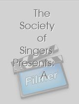 The Society of Singers Presents: A Tribute to Ella Fitzgerald